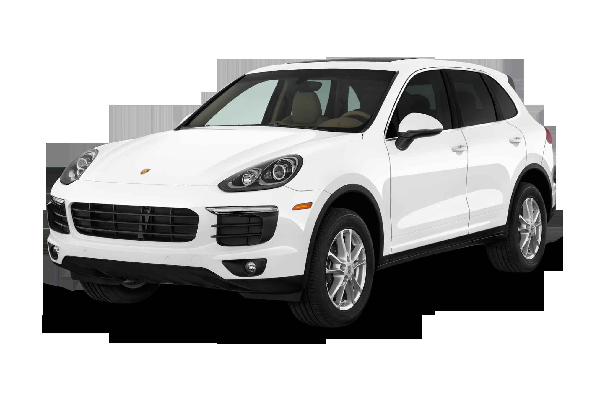 2017 Porsche Cayenne - White Suv PNG