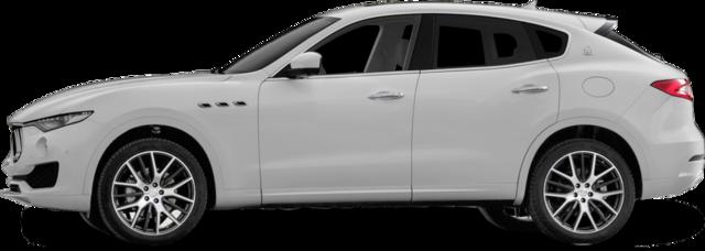 2018 Maserati Levante SUV - White Suv PNG