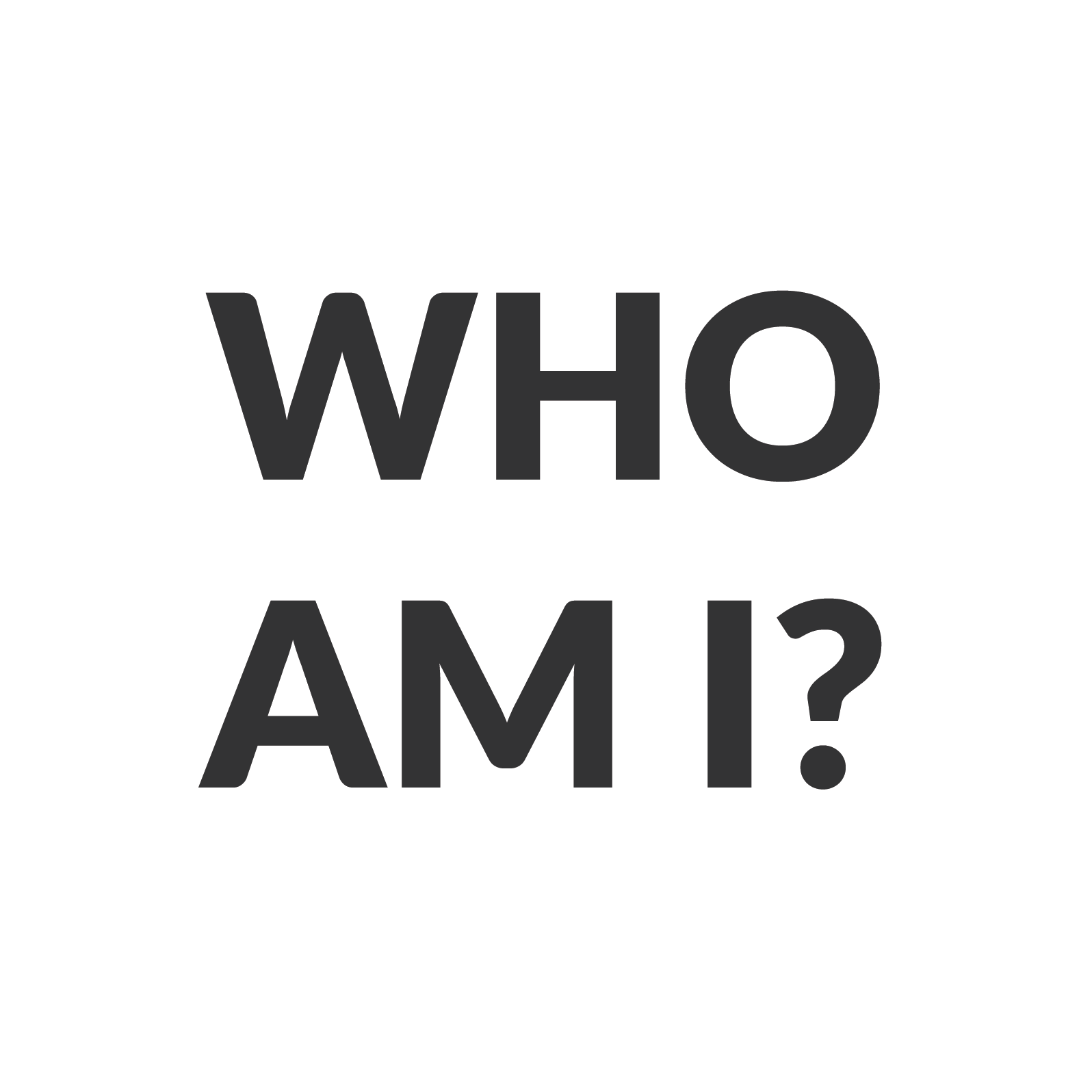 Who Am I PNG - 53707