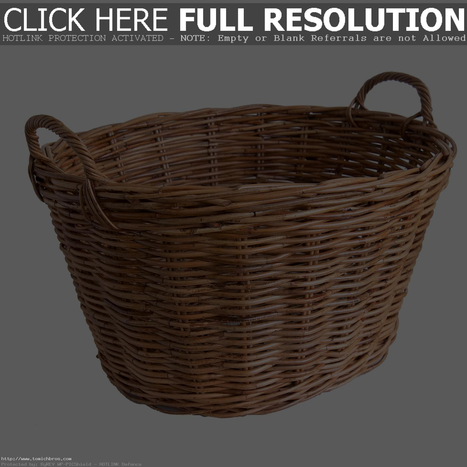Wicker Basket PNG-PlusPNG.com-1500 - Wicker Basket PNG
