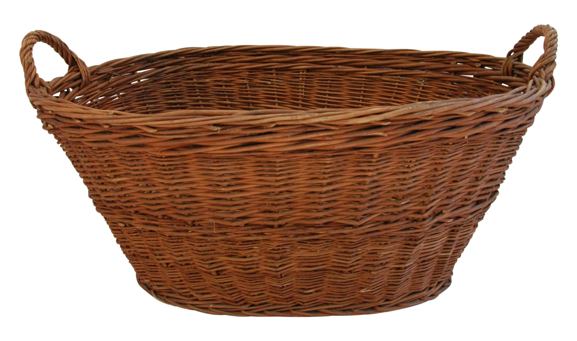 Wicker Basket PNG-PlusPNG.com-2006 - Wicker Basket PNG