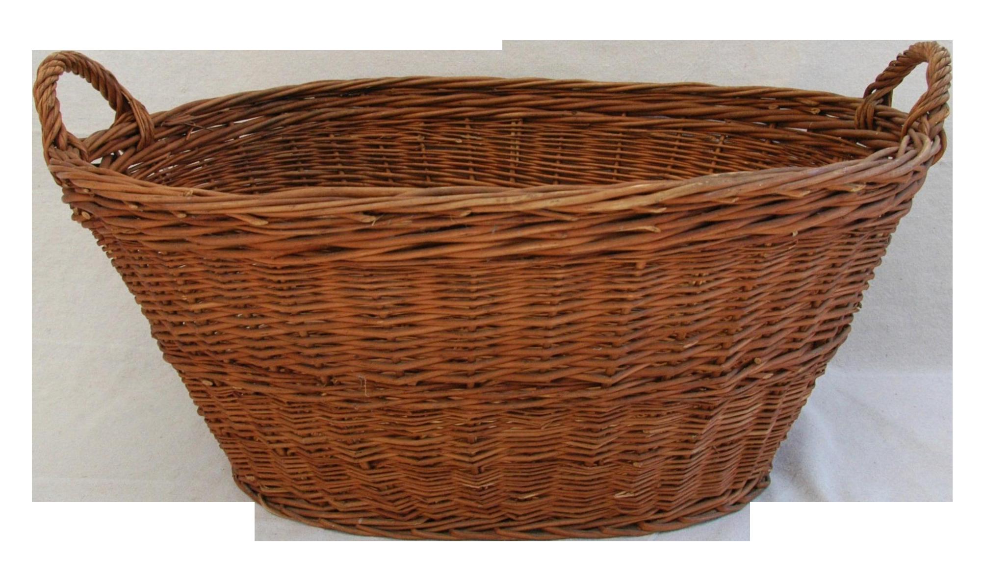 Wicker Basket PNG - 53671