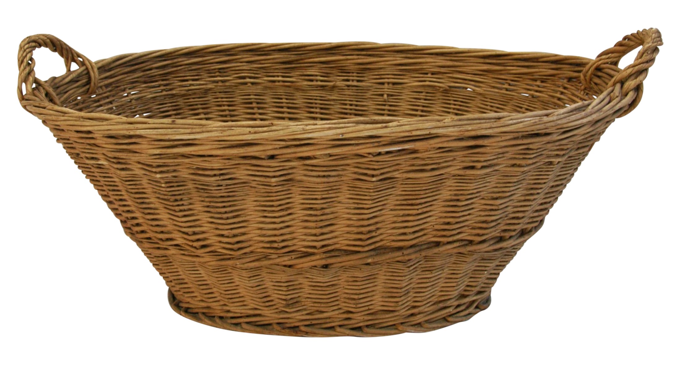 Wicker Basket PNG-PlusPNG.com-2194 - Wicker Basket PNG