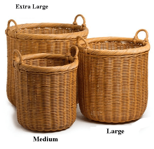 Quick View - Wicker Basket PNG