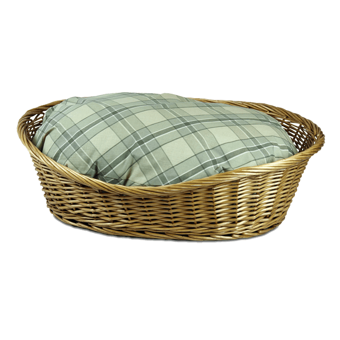 Replacement Cover u2013 Wicker Dog Basket PlusPng.com  - Wicker Basket PNG