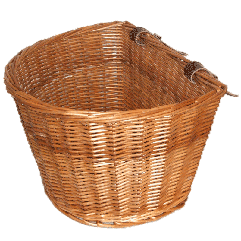 Wicker E-bike Basket - Large - Wicker Basket PNG
