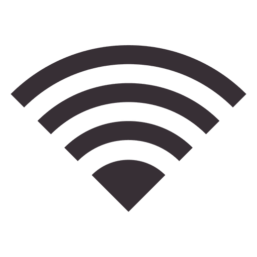 Wifi PNG Black And White - 162393