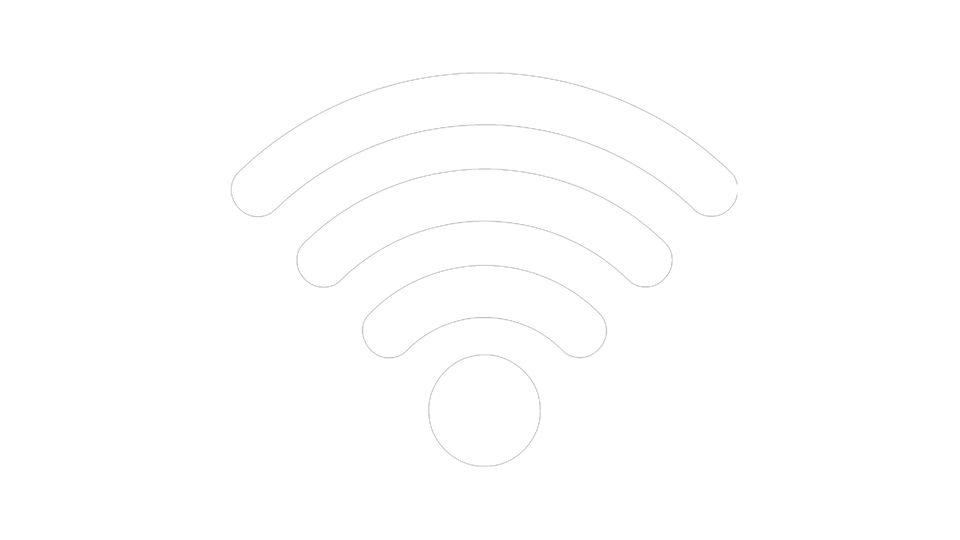 Wifi PNG Black And White - 162396