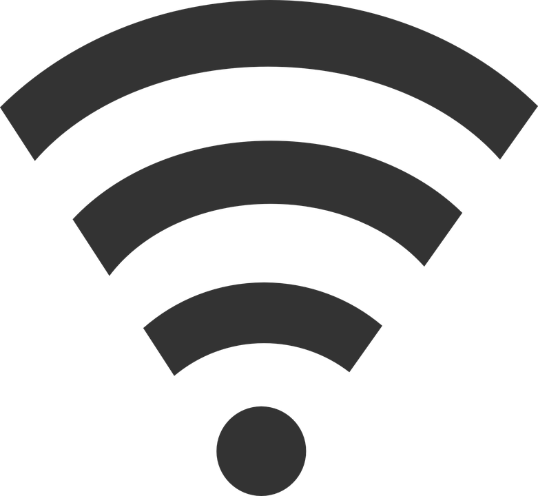 Wifi PNG Black And White - 162389