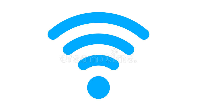 Wi-fi Flat Icon In PNG Format With ALPHA Transparency Channel Stock Footage  - Video of wifi, electronic: 91700166 - Wifi PNG
