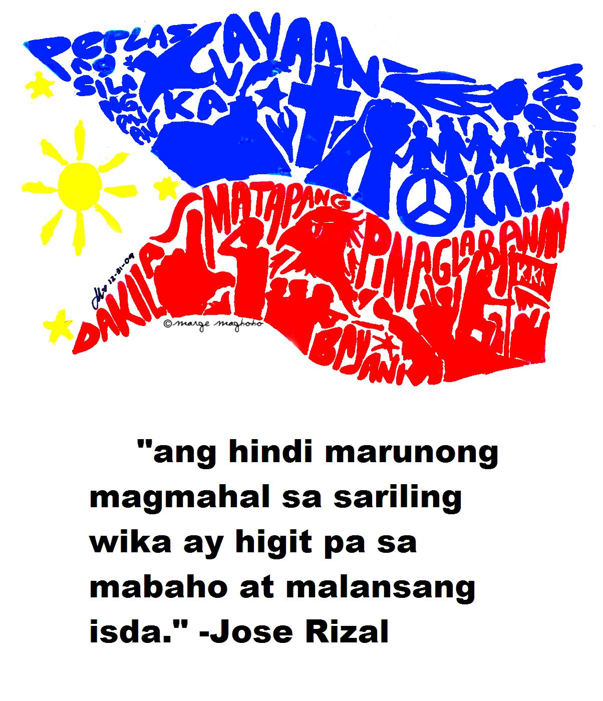 Nababalitaan na tatanggalin na daw sa kolehiyo ang asignaturang Filipino.  Sa aking palagay hindi ito tama, sapagkat nawawala ang pagka nasyonalismo  ng bawat PlusPng.com  - Wikang Filipino PNG