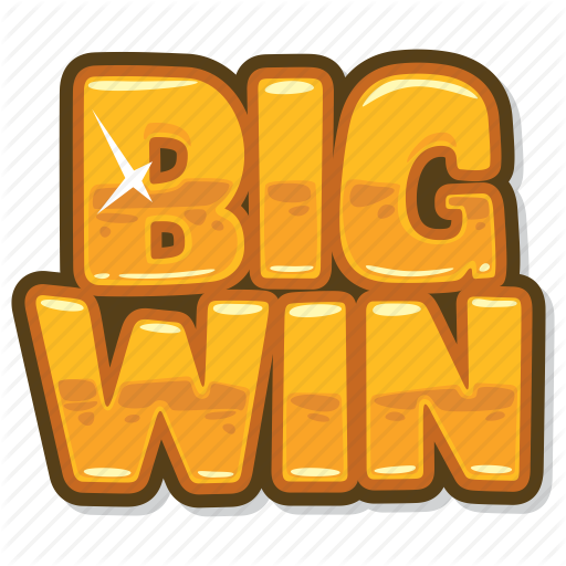 big win, casino game, gambling, slot icon - Win PNG