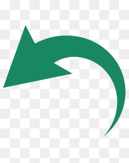 green curved arrow material,