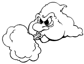 Blowing wind clipart pluspng 2 - Wind Blowing PNG HD