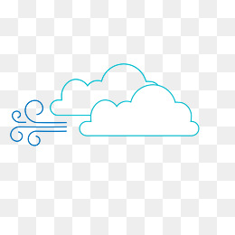 Vector flat wind blowing cloud PNG picture, Flattened, Wind, Windy PNG and  Vector - Wind Blowing PNG HD