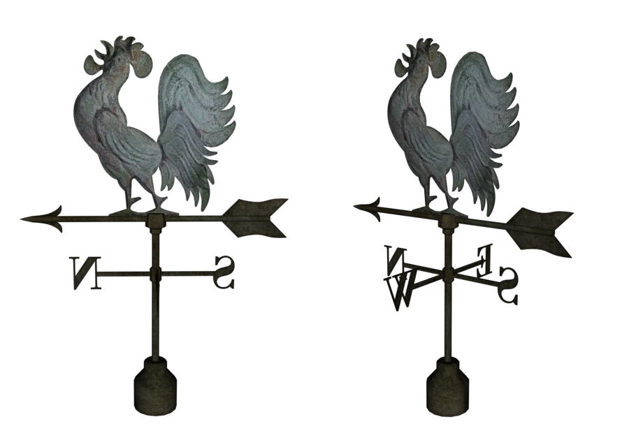 Rooster Weathervanes png by mysticmorning PlusPng.com  - Wind Vane PNG Black And White