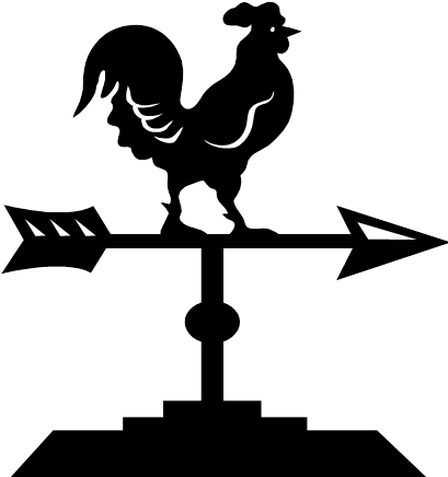weather vane - Wind Vane PNG Black And White
