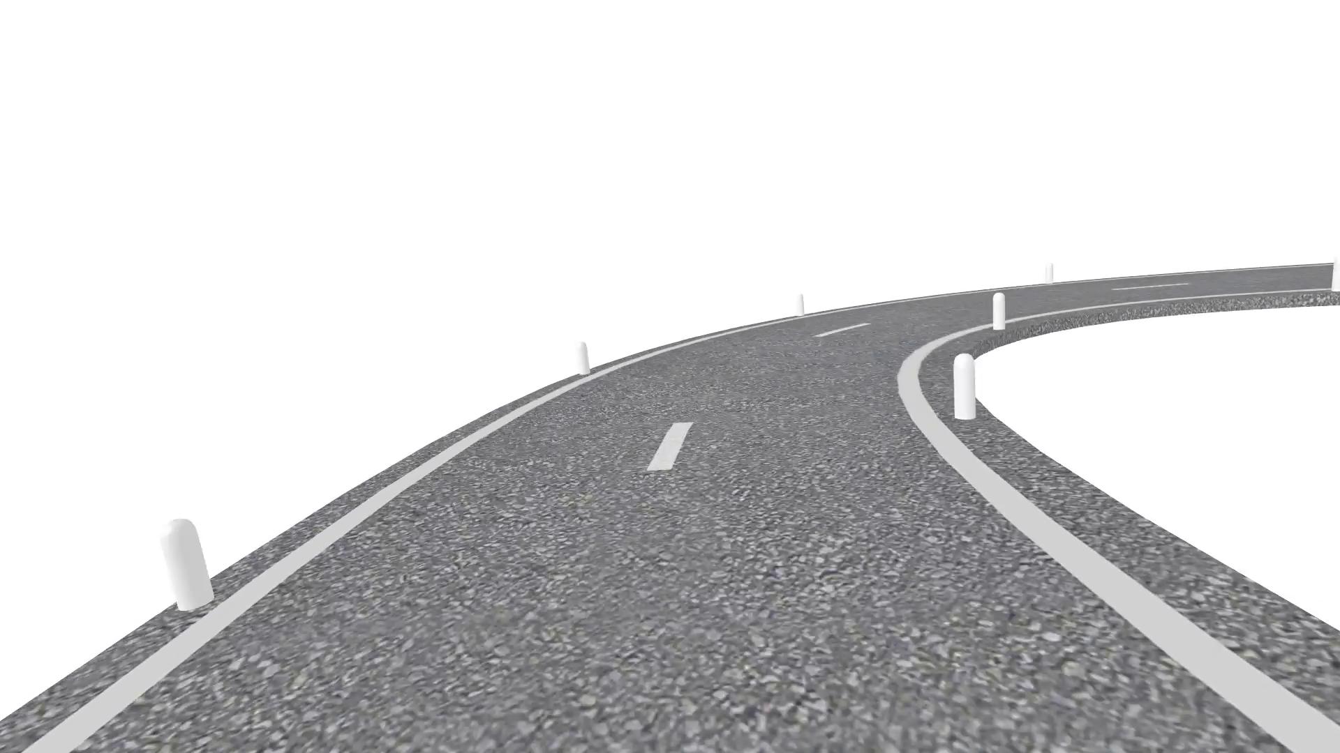 Winding Road PNG HD - 137033