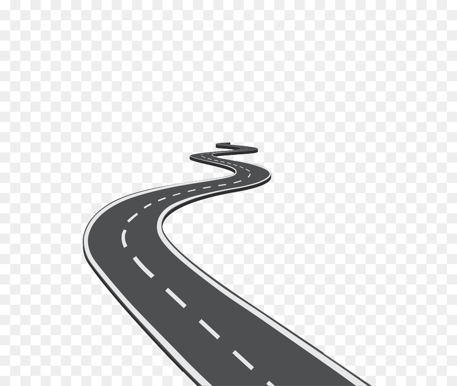 Road Icon - Creative winding road - Winding Road PNG HD