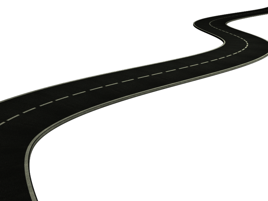 Winding Road PNG HD - 137023