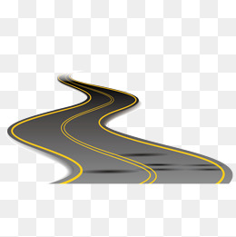 Vector rugged winding road, Vector Asphalt, Winding Road, Vector Road PNG  and Vector - Winding Road PNG HD