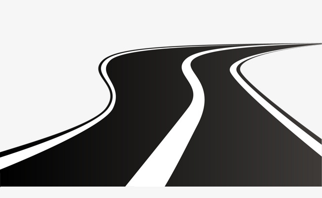 Vector winding road, Vector Road, Highway, Vector Road PNG and Vector - Winding Road PNG HD