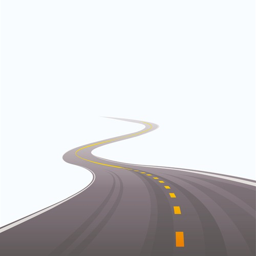Winding road design vector 04 download - Winding Road PNG HD