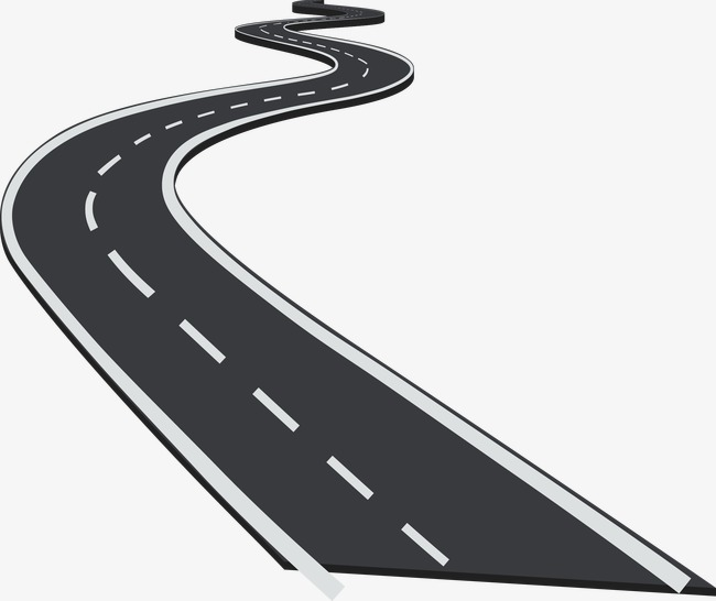 Winding road, Tortuous, Highway, The Way PNG and Vector - Winding Road PNG HD