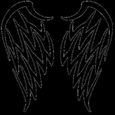 Wing Tattoo Simple - Tribal Skull Tattoos PNG