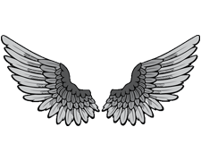 Wings Tattoos PNG - 4623