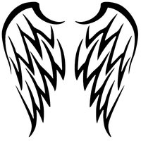 Wings Tattoos PNG - 4605