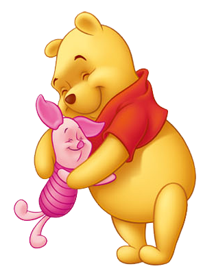 Winnie The Pooh And Piglet PNG - 160243