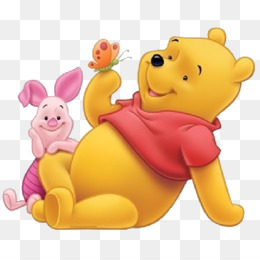 Winnie The Pooh And Piglet PNG - 160241