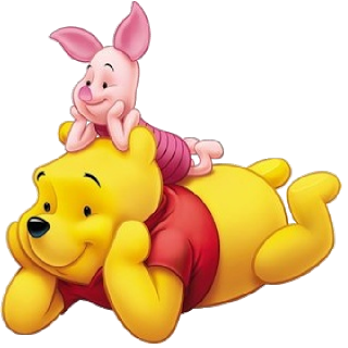 Winnie The Pooh And Piglet PNG - 160250