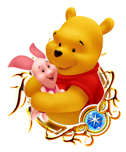 Winnie The Pooh And Piglet PNG - 160246
