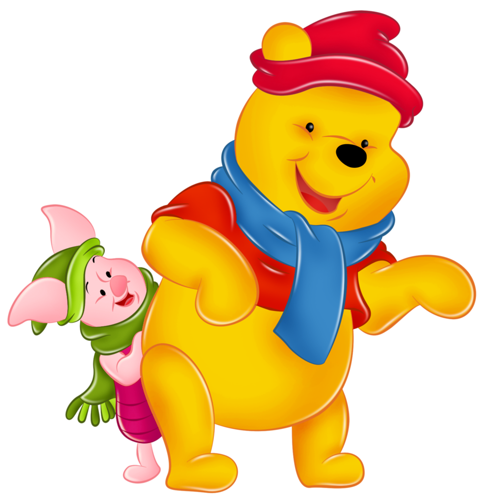 Winnie The Pooh And Piglet PNG - 160248