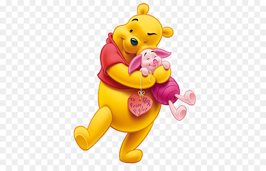 Winnie The Pooh And Piglet PNG - 160251