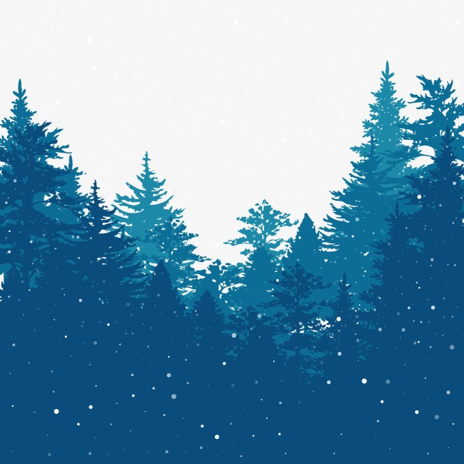 Vector Winter Forest, HD, Vector, Snow Free PNG And Vector - Winter PNG HD