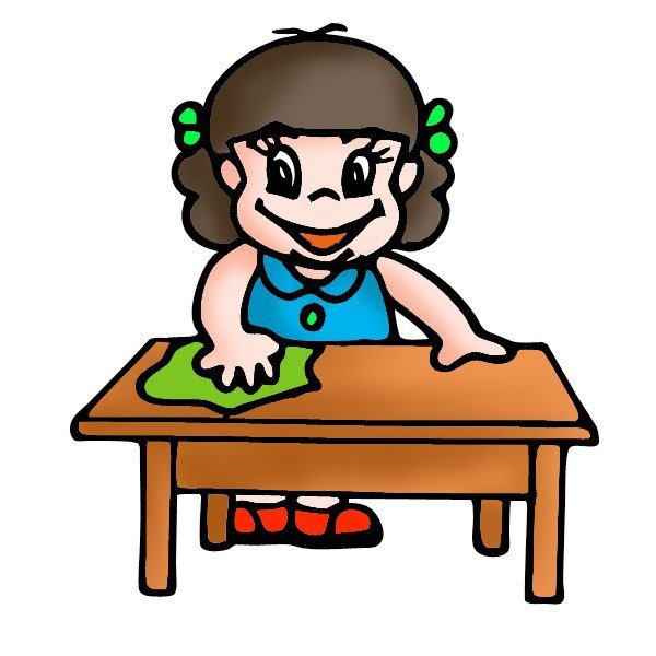 Wiping The Table PNG - 55194