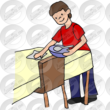 Wiping The Table PNG - 55191