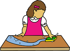 Wiping The Table PNG - 55197
