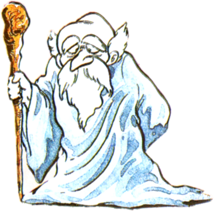 . PlusPng.com Old-Man-LoZ-Art.png PlusPng.com  - Wise Man HD PNG