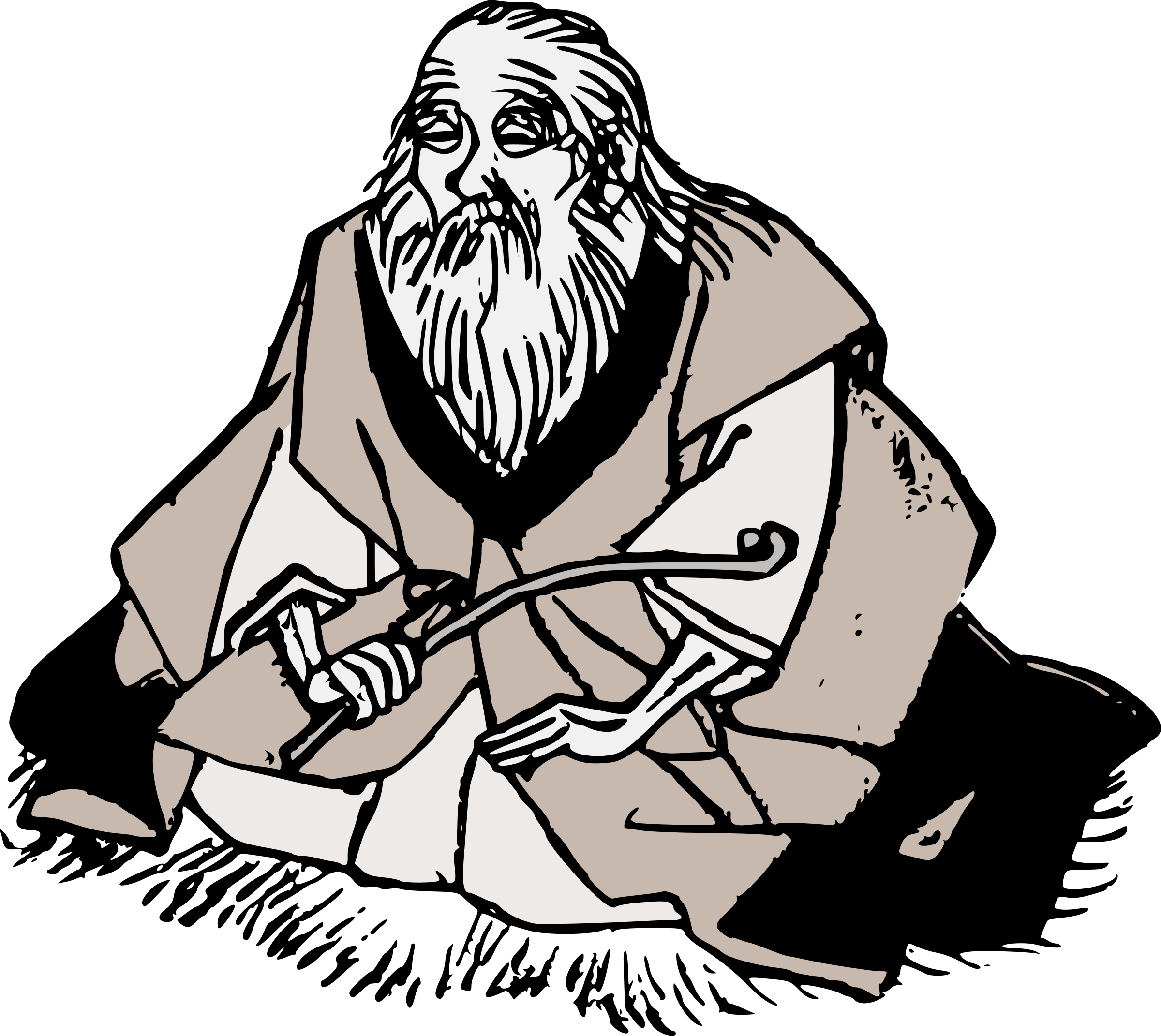 Wise - Wise Man HD PNG