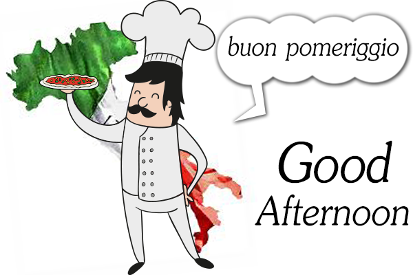 Wish You Good Afternoon In Italian - Good Afternoon PNG