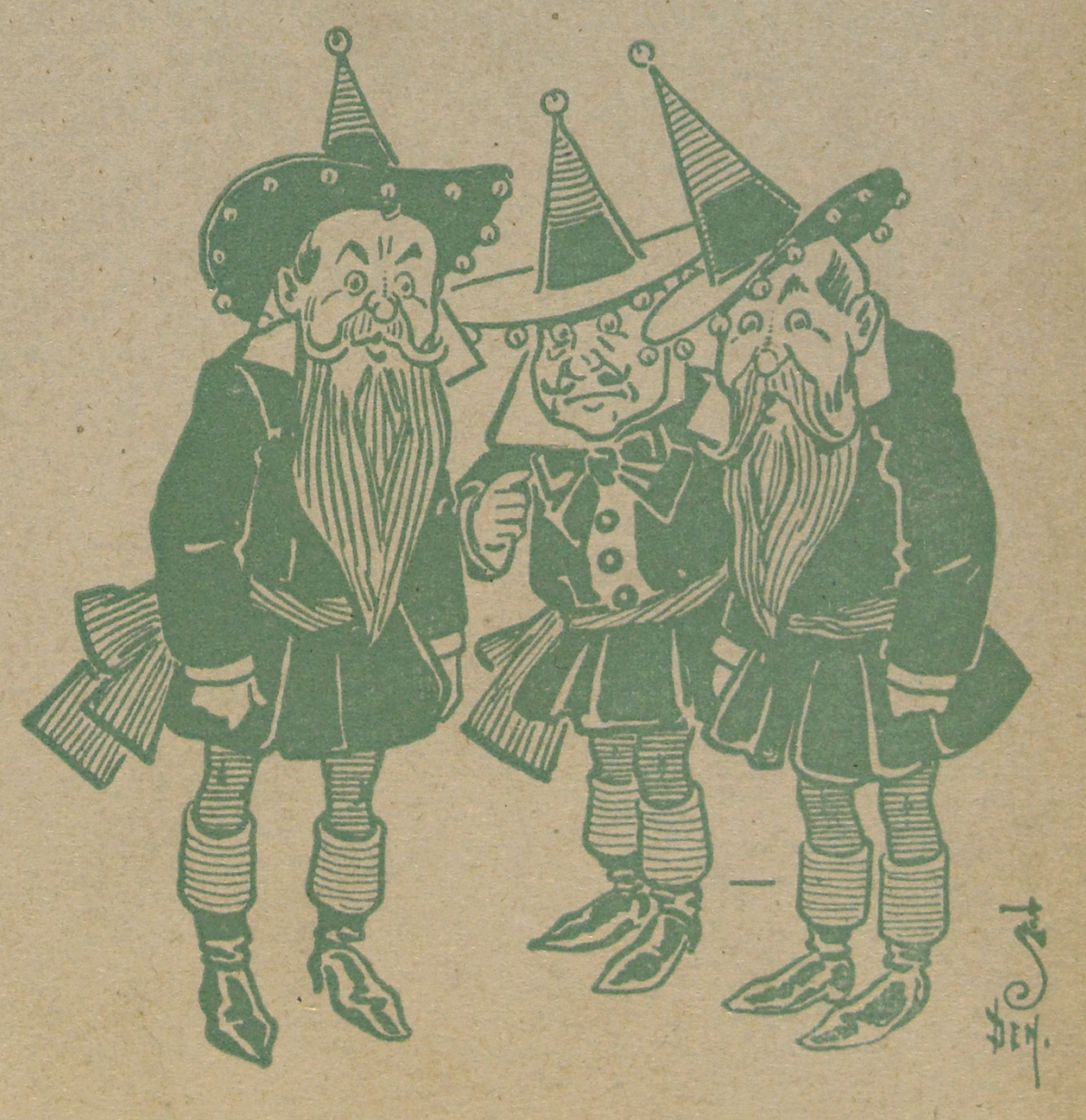 Wizard Of Oz Munchkins PNG - 42222