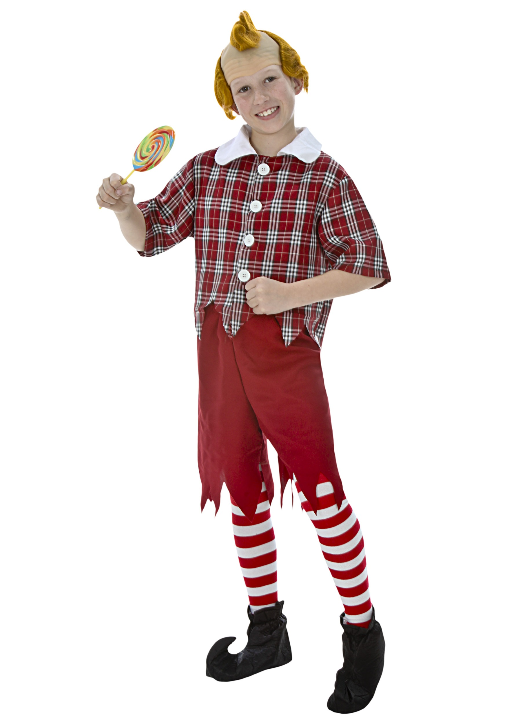 Child Red Munchkin Costume - Wizard Of Oz Munchkins PNG