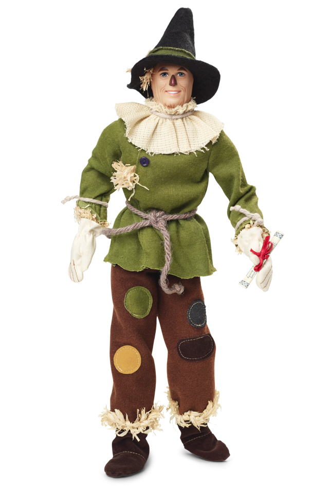 The Wizard of Oz Scarecrow Barbie Doll - Wizard Of Oz Munchkins PNG