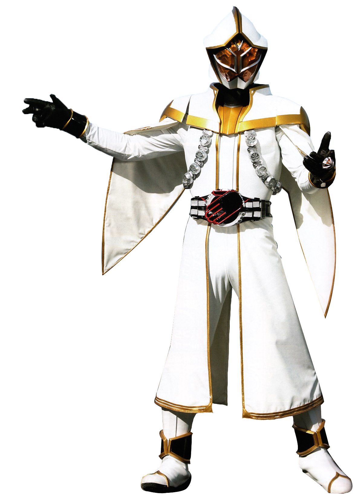 Kamen Rider White Wizard.png - Wizard PNG