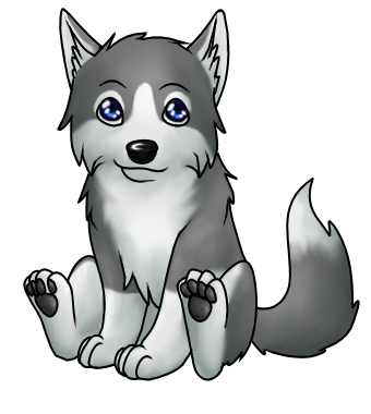 Wolf Pup PNG - 62229