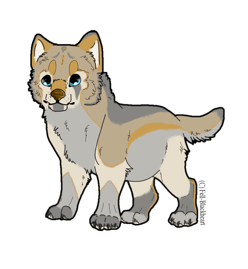 Free Draw to Adopt Wolf Pup - CLOSED by CGDragon on Clipart library - Wolf Pup PNG
